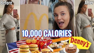 10,000 CALORIE CHALLENGE USA EDITION! | EPIC CHEAT DAY