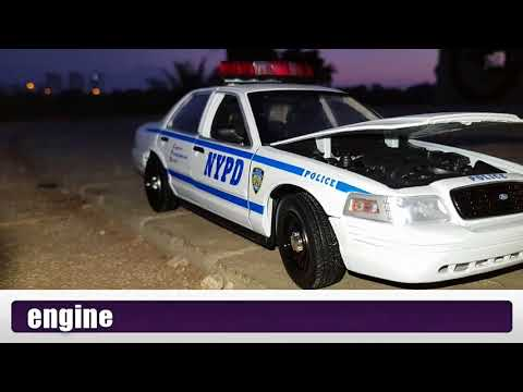Crown Vic NYPD 1:18 Made By Greenlight