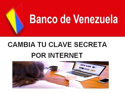 Como cambiar clave secreta de su tarjeta de debido por for Banco de venezuela clavenet personal