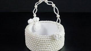 DIY PEARL BASKET | HOW TO MAKE PEARL BASKET | AWESOME GIFT IDEAS