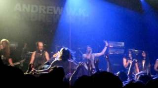 Andrew W.K - Long Live The Party, live @ The Filmore, NYC 2010-03-16