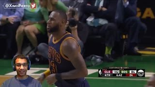LEBRON DISRESPECTS CELTICS, CLOWNING THE SCRUBS! Cavaliers vs Celtics Game 1 HIGHLIGHTS REACTION