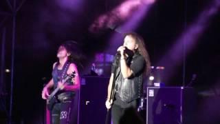 미국의 헤비메탈 그룹 Heavy Metal band 크리스 임펠리테리(기타), 커티...