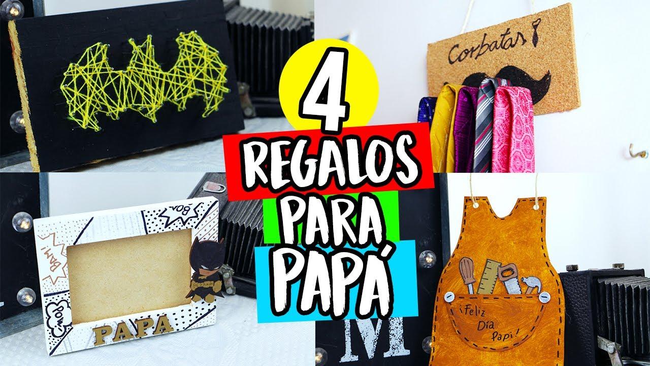 4 regalos f ciles para pap ideas de ltimo minuto for Que le puedo regalar a mi papa
