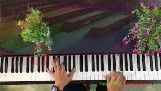 Bí quyết hoc piano solo Thánh ca Chúa Không Lầm (Kim Long) - Xuân Hải [Upponia.com - Tuhocpiano.com]