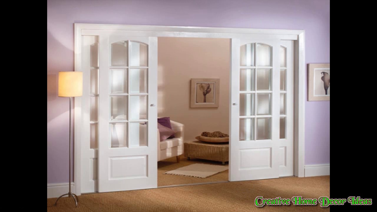 interior french pocket doors ideas youtube