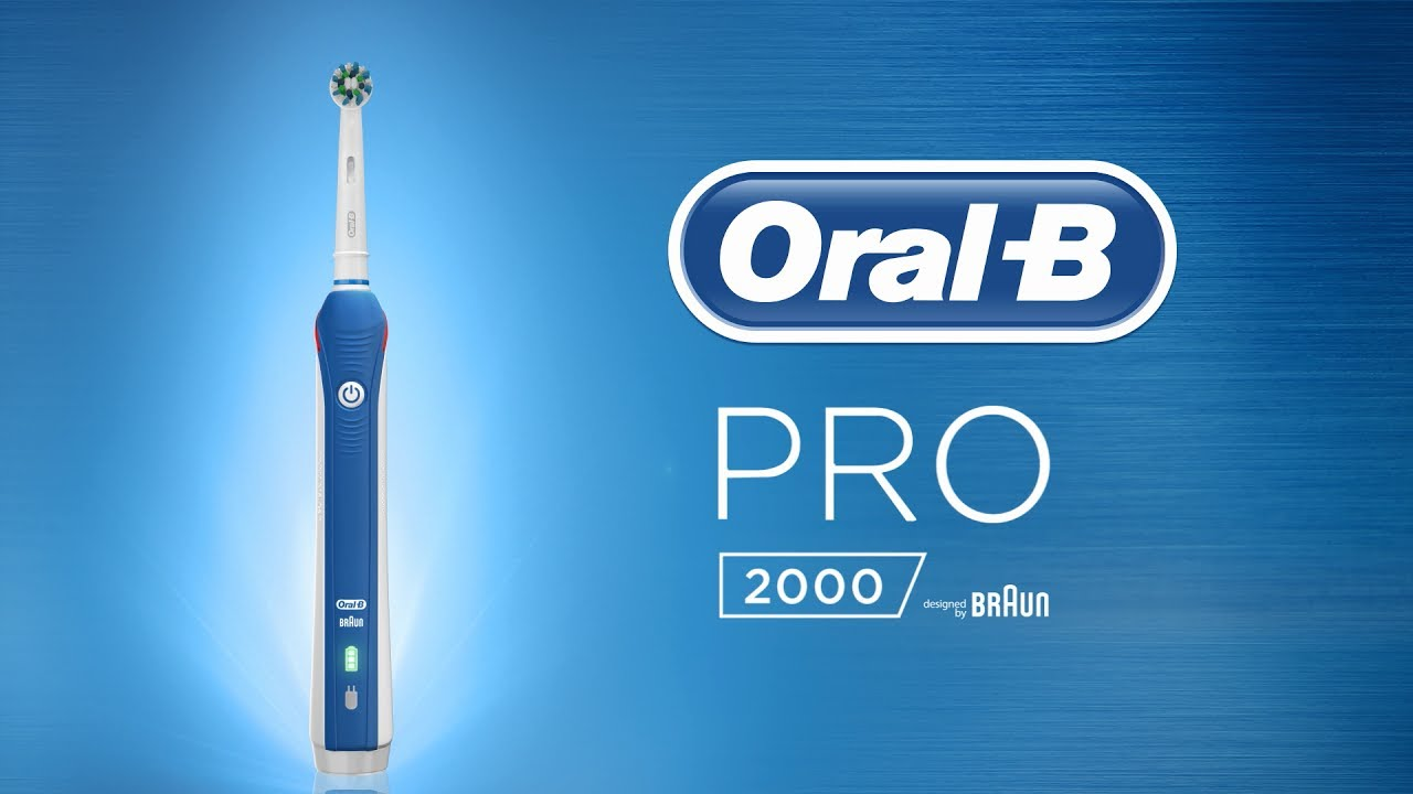 Cepillo de dientes eléctrico Oral-B Pro 2 2000N CrossAction - YouTube d8775def6c94