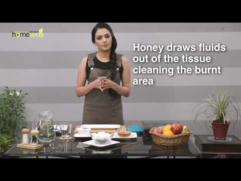 Treat Burns With Cold Tea Bags