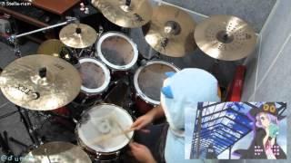 drumCR #차련 #叩いてみた 放課後のプレアデス[Houkago no Pleiades OP] 鹿乃(Kano) - Stella-rium Drum Cover ! R.I.P SamFree P ご冥福をお祈り致します。