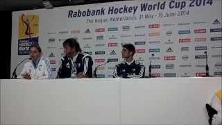 Luciana Aymar | Holanda 4 - Las Leonas 0 (Conferencia de Prensa)