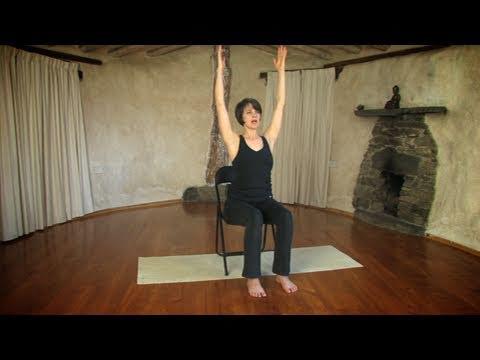 30 Minutes In Chair Exercises For Seniors Desk Mat Walmart Gentle Yoga The | Doovi