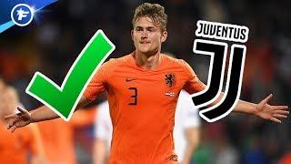 Matthijs de Ligt d'accord avec la Juventus | Revue de presse