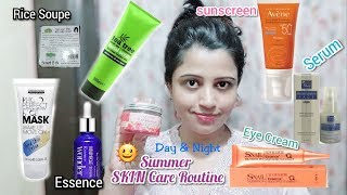 Best Skin Care Routine For Oily Skin \sensitive skin\acne Skin || Summer Skin care routines