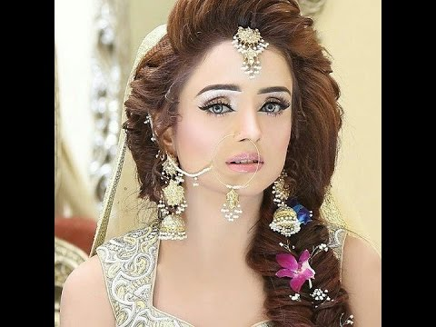 Bridal Hairstyle For Girls Youtube