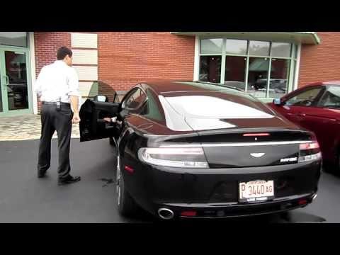 Aston Martin Rapide startup!