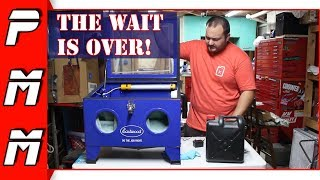 I've been wanting one of these for years! Eastwood Benchtop Blast Cabinet Review   Is It Worth It?