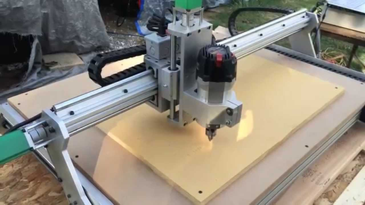 First Project on Probotix Asteroid CNC Router - YouTube