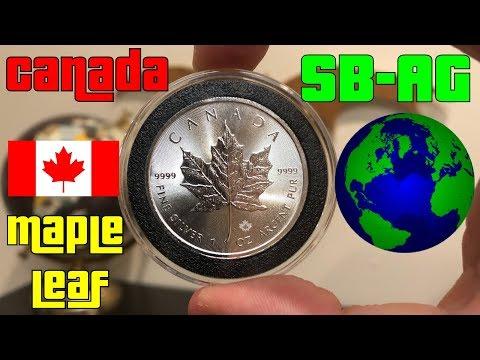 SB-AG Canadian Silver Maple Leaf