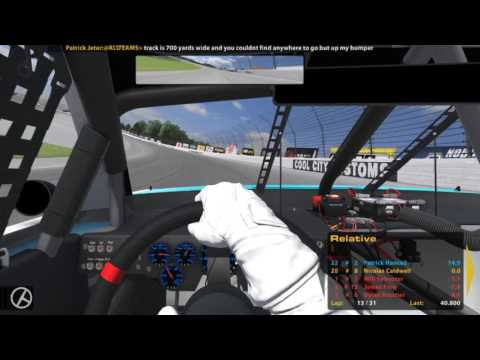 IDIOTS AT MICHIGAN! IRacing Xfinity B Fixed At Michigan