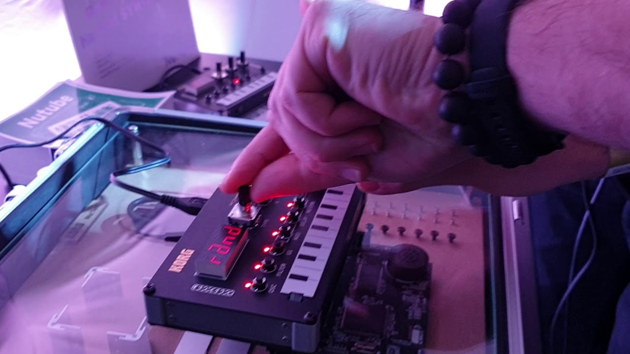 superbooth19 KORG Nu:Tekt DIY Synthesizer prototype