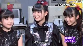 BABYMETAL on HotWave 1 sub ita.