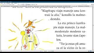 Esperanto with the  Little prince/ Chapter 11