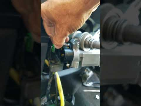 Chevrolet Colorado key cylinder replacement part 8