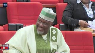 Rowdy session in Senate over Akpabio's sitting position