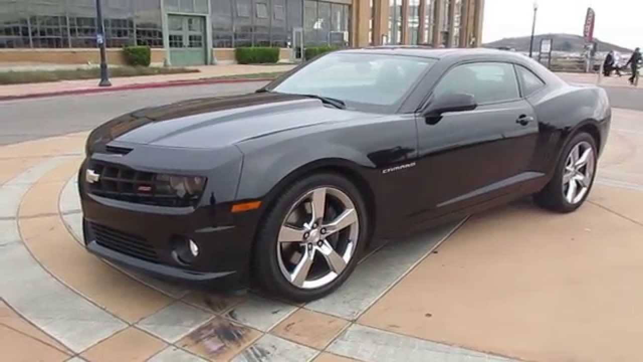 2011 black chevrolet camaro 2ss rs walkaround youtube. Black Bedroom Furniture Sets. Home Design Ideas