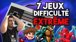 7 JEUX VIDÉO À LA DIFFICULTÉ LÉGENDAIRE!
