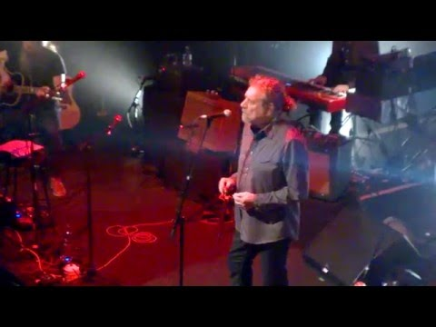 """Robert Plant """"Babe I'm Gonna Leave You"""" @ The Old Fruit Market,Glasgow,Celtic Connections"""
