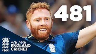 England's Record-Breaking 481-6 | England v Australia 3rd ODI 2018 - Jonny Bairstow Interview