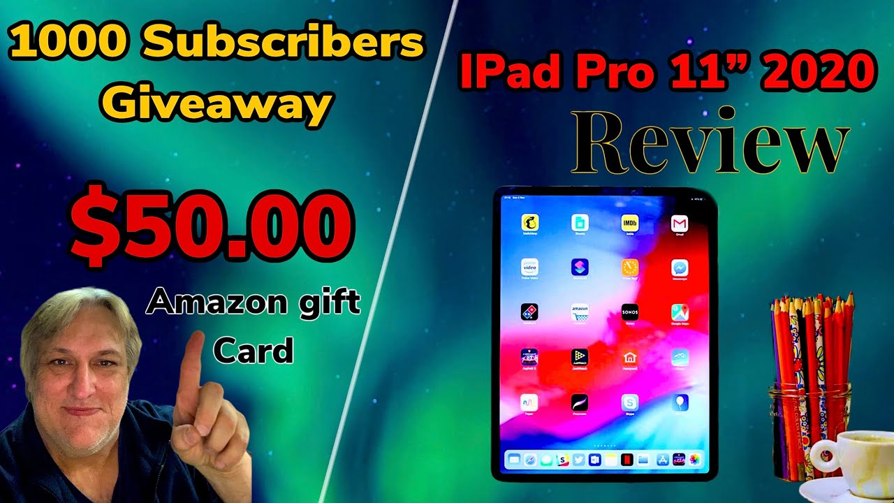 """IS THE 2020 IPAD PRO 11"""" Really Worth The Money? /$50.00 ..."""