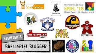 #Messe Spezial SPIEL2018 - Die heißesten Spiele der Brettspiel Youtuber