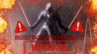 BIGGEST BASS DROPS EVER!!! (EXTREME BASS DROPS) PART 2