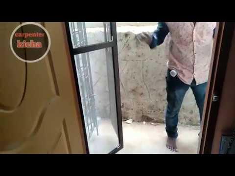 How To Make Mosquito Net-part-5/mosquito Net Folding Door Fixing