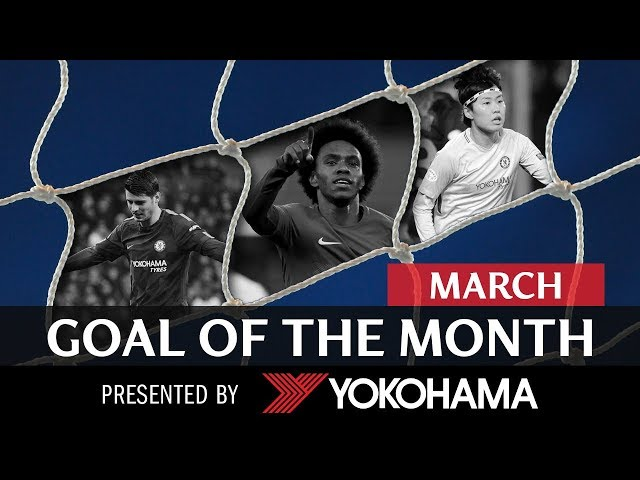 GOAL OF THE MONTH | March