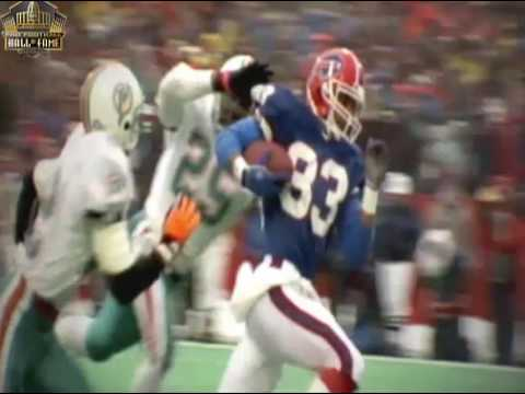 Buffalo Bills Hall Of Fame WR Andre Reed Highlights