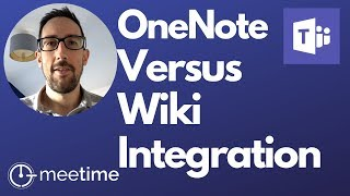 Microsoft Teams OneNote vs Wiki - Microsoft Teams Tutorial 2019