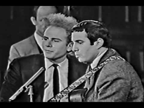 Simon & Garfunkel - I Am A Rock (Live Canadian TV, 1966)