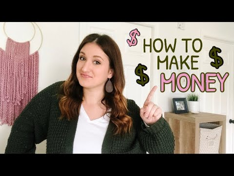 HOW TO MAKE MONEY AS A STAY AT HOME MOM. http://bit.ly/2Q6cQQf