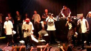 Wu Tang Clan REUNITED - One Blood Under W Live @ Paradiso Amsterdam July 25th 2010