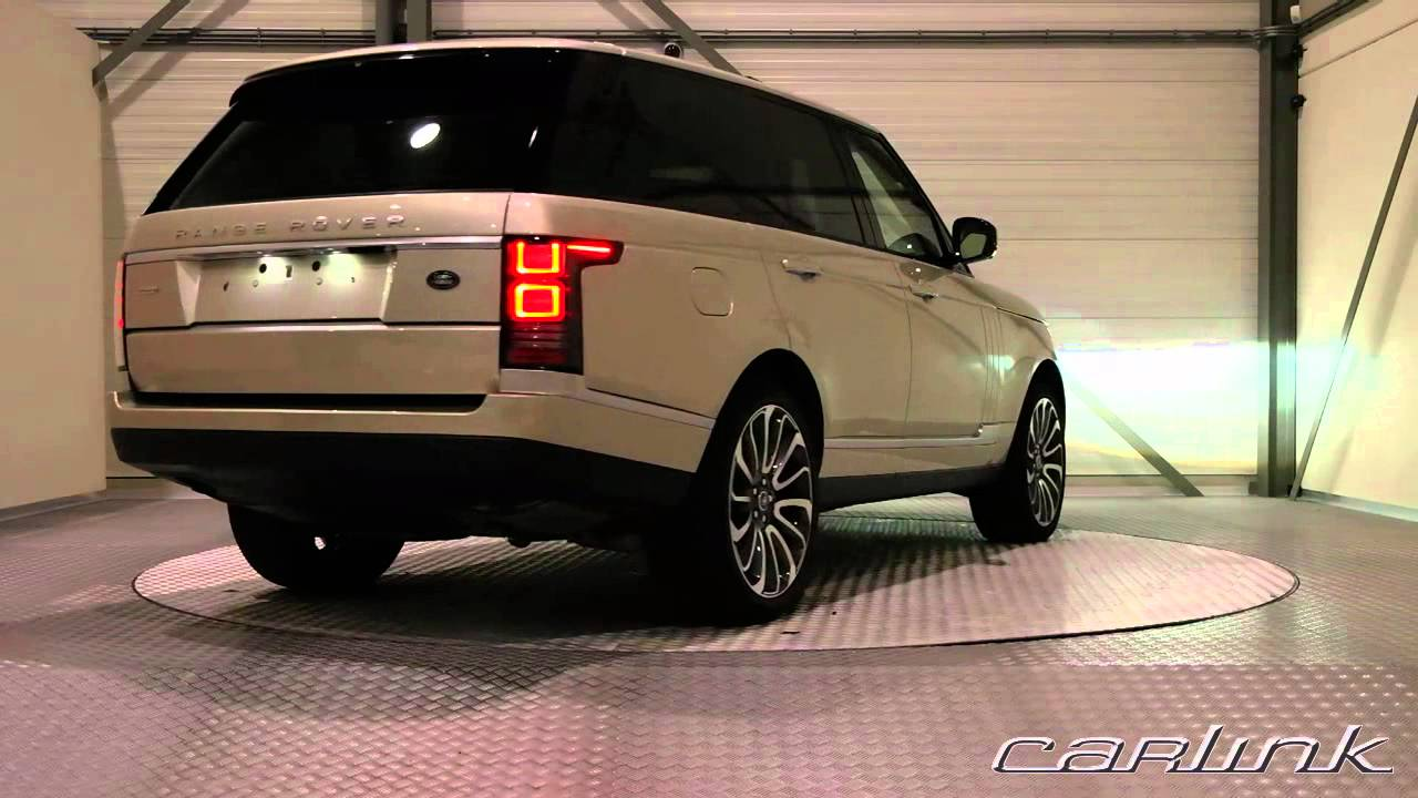 Range Rover Autobiography >> Land Rover Range Rover Autobiography Luxor - YouTube