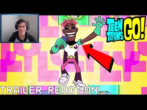 Teen Titans GO! To The Movies - GO! Remix Music Video [HD] - Reaction! The song is really good!!