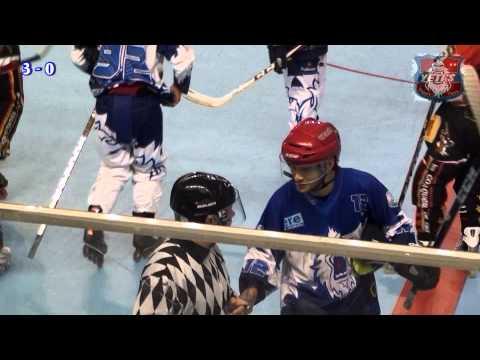 ROLLER HOCKEY CHAMPIONNAT ELITE LES YETI'S VS LES CONQUERANTS 17 NOVEMBRE 2012 A GRENOBLE