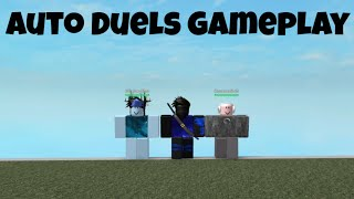 Roblox Auto Duels Gameplay