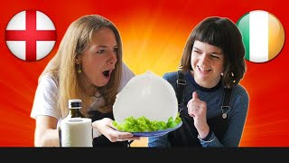 STRANIERI mangiano MOZZARELLA ITALIANA per la PRIMA volta - thepillow