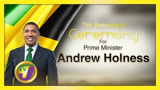 Prime Minister Andrew Holness Swearing-in Ceremony Live Coverage