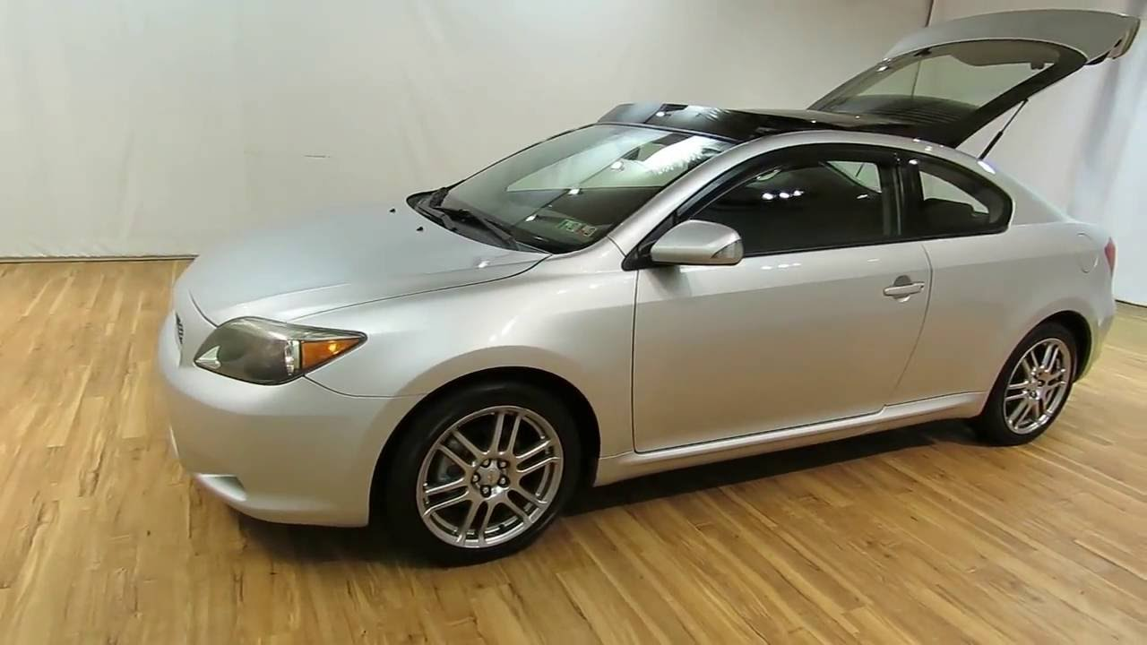 2006 Scion Tc Panoramic Sunroof Alloys Carvision Com Youtube