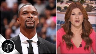 Recapping Chris Bosh's epic Heat jersey retirement, speech, and unforgettable career | The Jump